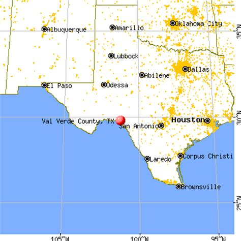 val verde county texas map val verde county texas detailed profile houses real estate cost of living wages work