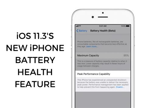 ios 11 3 s new iphone battery health feature everything you need to