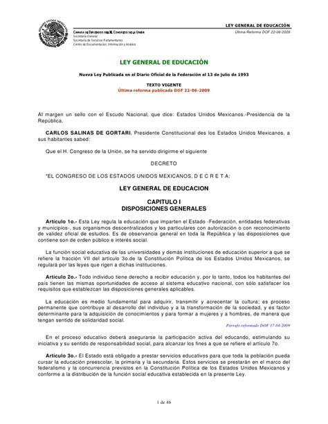 ley 1737 de 2014 secretara general del senado ley general de educacin slideshare