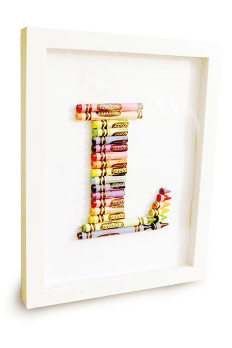 25 best ideas about crayon monogram on pinterest crayon