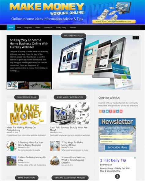Sites To Make Money Online - make money online websites for sale