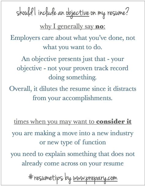 Do I Need A Career Objective On My Resume by Should I Include An Objective On My Resume Is An