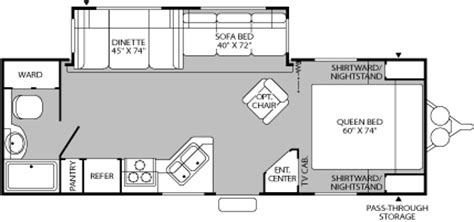 fleetwood prowler 5th wheel floor plans 2005 fleetwood prowler regal travel trailer rvweb