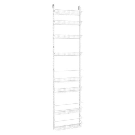 closetmaid 8 tier the door adjustable wire target