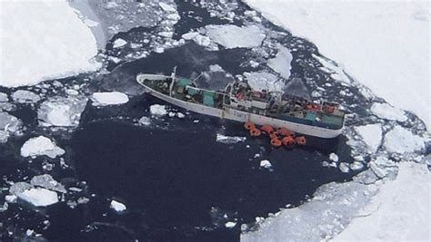 sinking boat icebreaker icebreaker dispatched for southern ocean rescue in