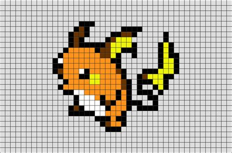 Tiles Images by Pokemon Raichu Pixel Art Brik
