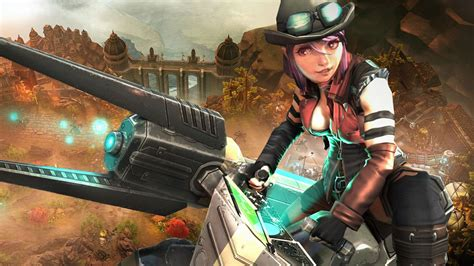 wallpaper android vainglory action online moba fighting vector wallpapers warrior