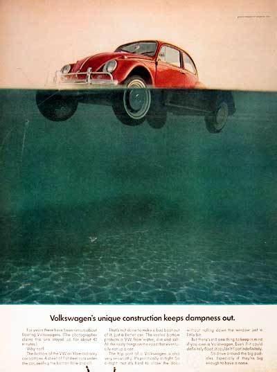 vintage vw beetle ads thinkingouttabox