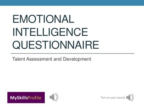Mba Project Report On Emotional Intelligence by Eiq16 Emotional Intelligence Questionnaire