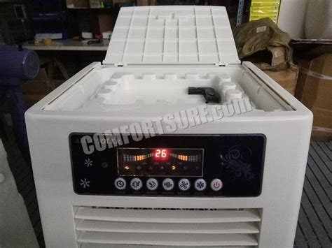 maxcool portable evaporative swamp air cooler honeycomb double stage home ionizer cooling fan