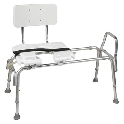 sliding bench duro med bariatric heavy duty sliding transfer bench with