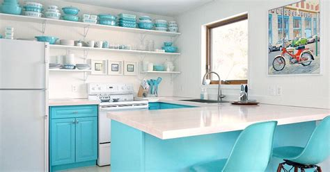 budget friendly kitchen makeovers ideas and instructions budget friendly turquoise kitchen makeover hometalk