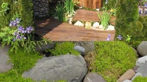 lumut cantik taman rumah unik