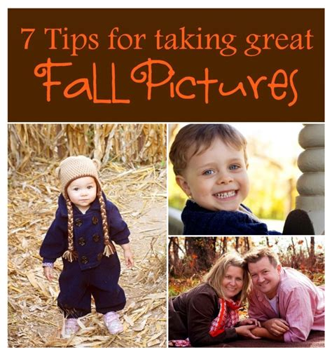 8 Tips On Taking Great Photos by 7 Tips For Taking Great Fall Pictures Candle In The