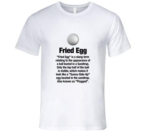 Gulf T Shirt golf tshirt fried egg golf golfer t shirt