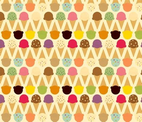 cute ice cream pattern ice cream pattern colors pinterest patterns ice and