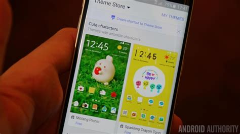 themes for android samsung galaxy samsung adds more themes to the galaxy s6