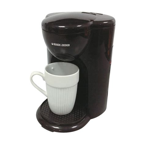 Coffee Maker Otomatis jual black decker dcm25b1 coffe maker 1 cup 330 w