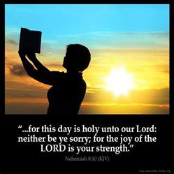The Lord Is My Light Song Nehemiah 8 10 Inspirational Image