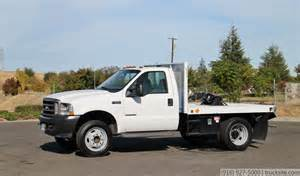 Ford F550 Flatbed 2002 Ford F550 Xl Duty 9 Flatbed For Sale By