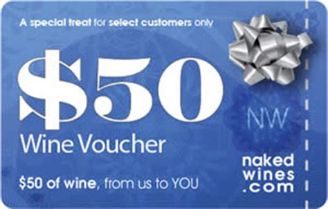 Naked Wine Gift Card - subscription box swaps naked wines 50 gift card