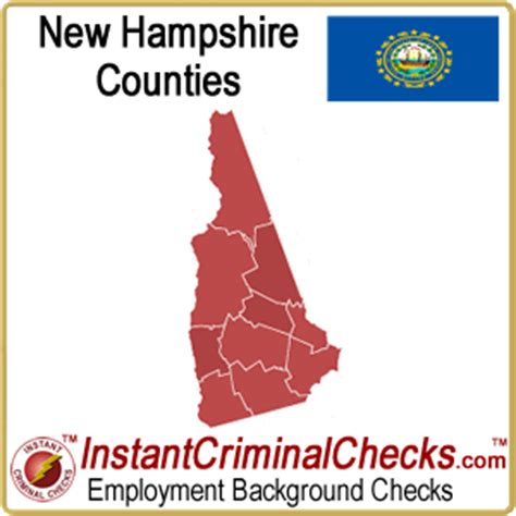 Nh Background Check New Hshire County Criminal Background Checks Nh