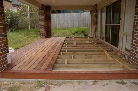 How To Lay Decking On Concrete Patio by Deck Concrete Patio View Topic Can U Deck