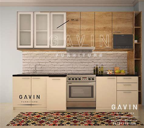 Serat Set jual kitchen set serat kayu kombinasi hpl di cempaka putih