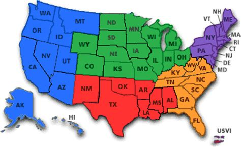 usa map states initials unit 1 america s geography beginnings