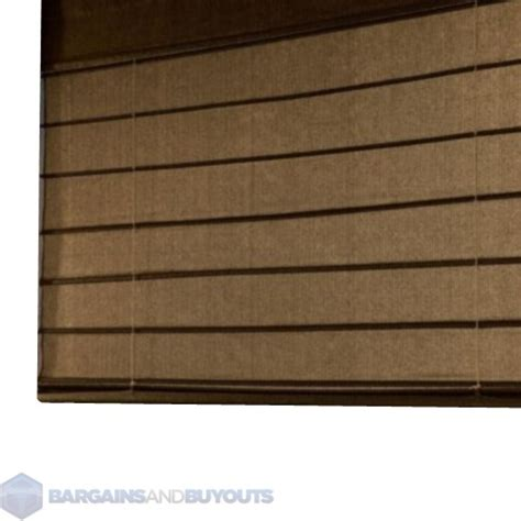 all weather l shades coolaroo outdoor all weather exterior roman shades 8 x