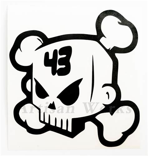 hoonigan sticker ken block skull vinyl decal sticker hoonigan jdm drift car