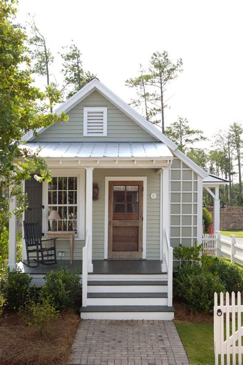 Small Cottage House Plans With Porches The Return To Small House Living Town Country Living