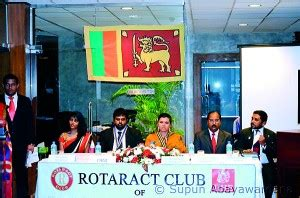 Of Wales Mba In Sri Lanka by Iihe Conducts 2nd Rotaract Installation The Sundaytimes