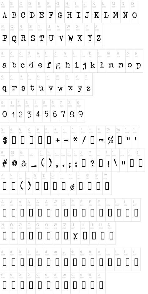 dafont old english typewriter oldstyle font dafont com