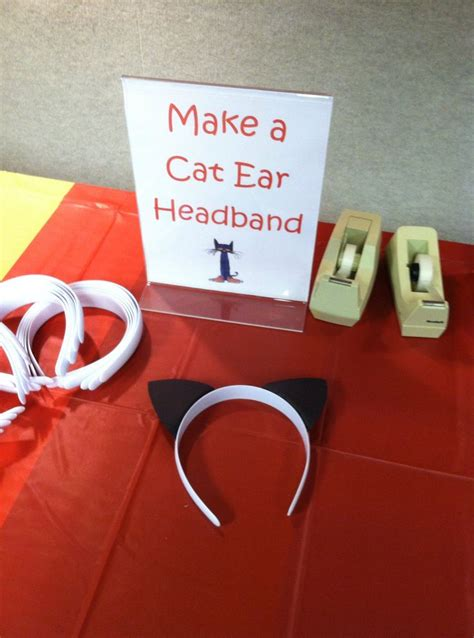How To Make A Headband Out Of Paper - the 25 best pete the cat costume ideas on