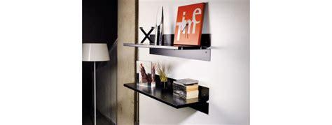 mensole metallo design mensole moderne design in legno metallo o vetro