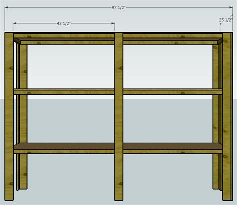 how to build buy wood shelves pdf plans