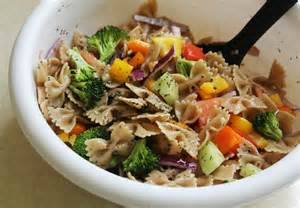 Pasta Salad Vegetarian by Vegetarian Pasta Salad Recipe Live Learn Love Eat
