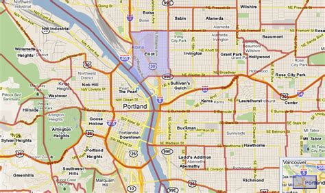 printable zip code map portland oregon zip code map portland afputra com