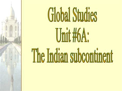 Geos Jnana 5 south asia and the indian subcontinent