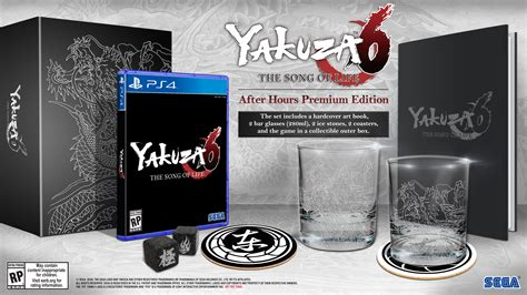 Ps4 Yakuza 6 The Song Of Limited Artbook Edition R3 Asia sega reveals yakuza 6 release date and premium edition for the west segalization