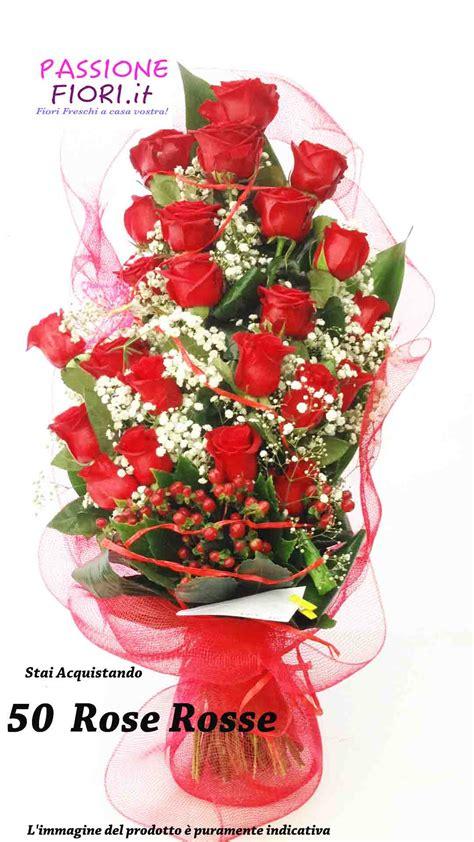 fiori stelo lungo 50 rosse per fare colpo attaccamento e devozione