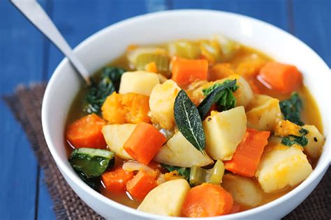 meal plan fall 2014 week 8 rainbow delicious - Root Vegetable Soup Cooker