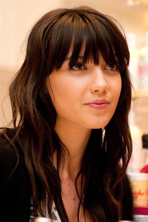 long brunette hairstyles beautiful hairstyles daisy lowe beauty spotlight nude lipstick lovers