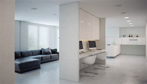 superminimalist com a super minimalist modern apartment in white
