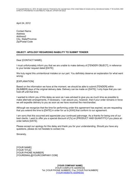 Cover Letter For Tender 6 Tender Letter A Cover Letters