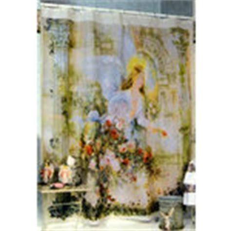 angel shower curtains lena liu herald angel bathroom shower curtain christmas
