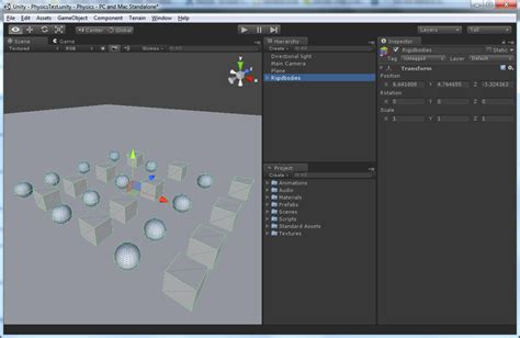 unity tutorial physics physics in unity 3 53d game engine programming