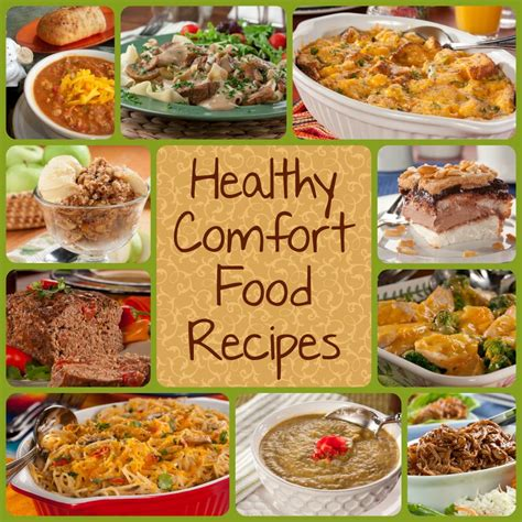 top 10 healthy comfort food recipes