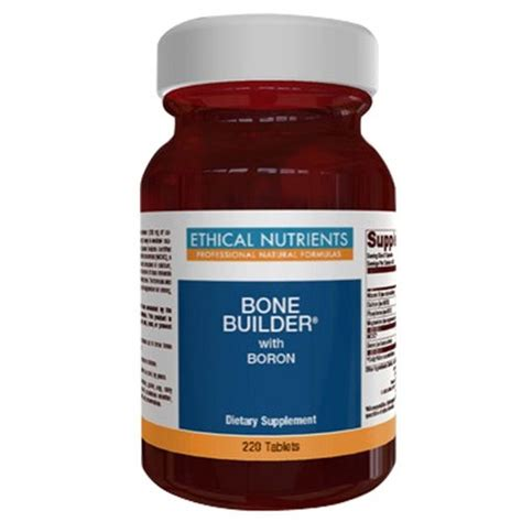 Metagenics Detox Reviews Australia by Buy Ethical Nutrients Bone Builder With Boron 120